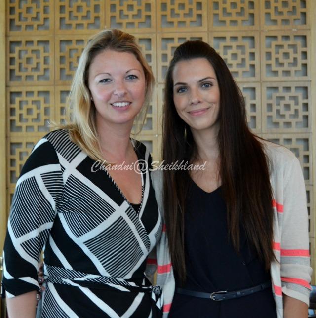 Louise and Rachel from Connector Dubai